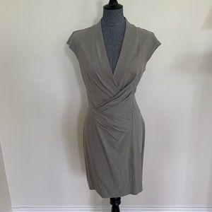 Helmut Lang Grey structured dress
